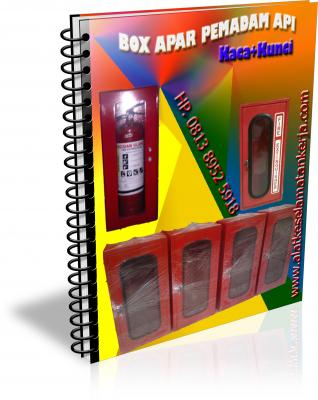 box apar pemadam kebakaran, box kaca apar , Box fire extinguisher