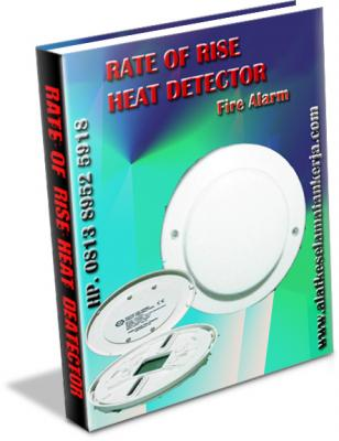 HEAT DETECTOR ALARM,Rate of Rise Heat Detector