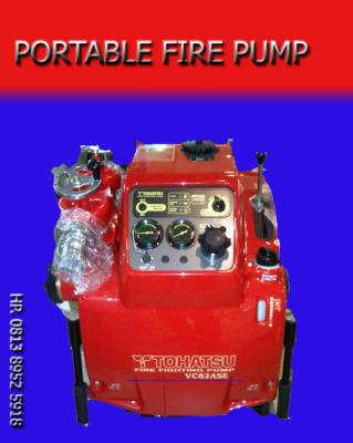 Pump portable tohatzu, fire pump portable tohatzu, fire pump portable