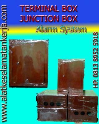 TERMINAL BOX, JUNCTION BOX, ;BOX ALARM SYTEM