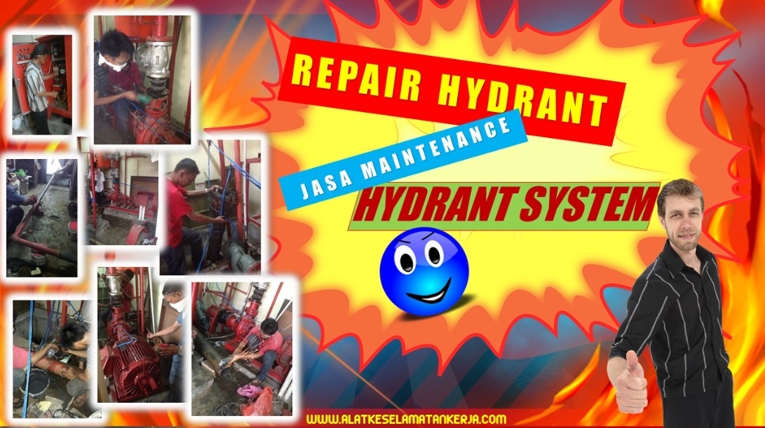 Jasa Maintenance Fire Hydrant System & Testing Commisioning